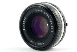 Nikon 50mm f/1.8 Series E Lense Objektiv