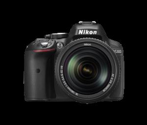 NIKON : digitale Spiegelreflexkamera (DLSR), D5300